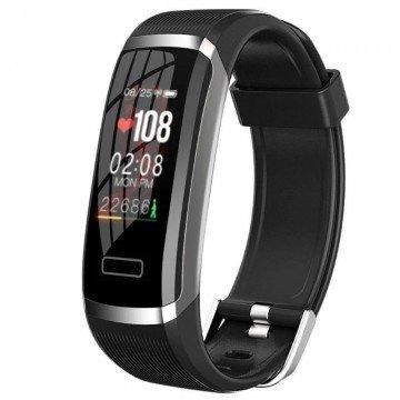 Bratara Fitness Smart TarTek CT6, monitorizare temperatura corporala, puls, tensiune arteriala, saturatie oxigen, monitor somn si de fitness