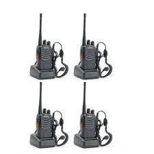 Set 4 statii radio portabile emisie receptie PROGRAMATE in banda de licenta libera, Walkie Talkie, Baofeng BF-888