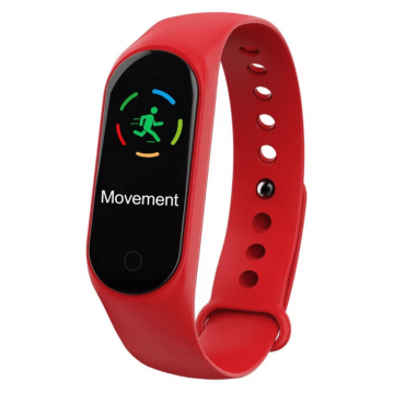 Bratara Fitness Mediatek M4, RED EDITION