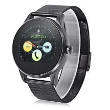 Ceas Smartwatch MediaTek™ K88H Android si IOS, Full Metalic, Black Edition