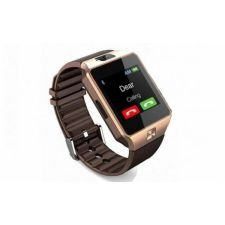 Ceas SmartWatch metalic MediaTek™ - DZ09 Gold Edition