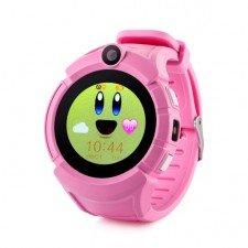 Ceas telefon Smartwatch cu GPS pentru copii MediaTek Q610 ROZ setat in reteaua Telekom