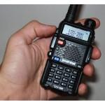 Statie radio portabila emisie receptie, Walkie Talkie Baofeng UV-5R TP - 8W, 136 - 174 MHz / 400-520 Mhz