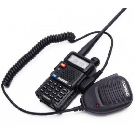 Statie Radio Walkie Talkie Baofeng UV-5R 8 W cu MICROFON exterior