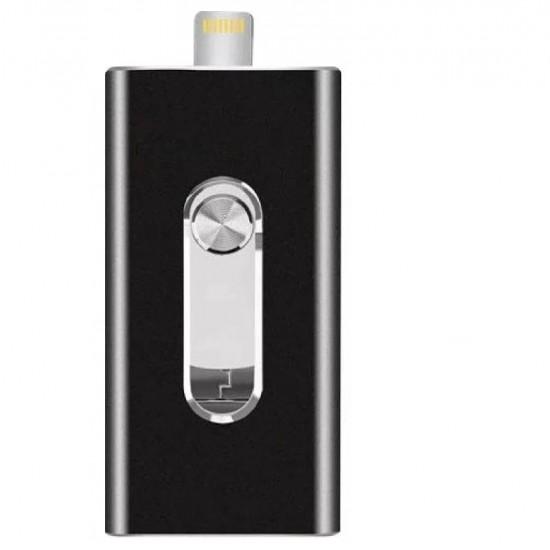 Unitate flash de stocare 64 GB TarTek™, Mini memorie USB Flash Drive Stick pentru iOS iPhone / iPad / Mac / Android / PC OTG Pendrive