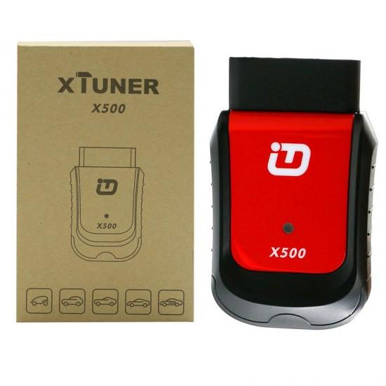Interfata Diagnoza Auto Multimarca XTUNER x500, pentru telefoane si tablete ANDROID, meniu in limba Romana