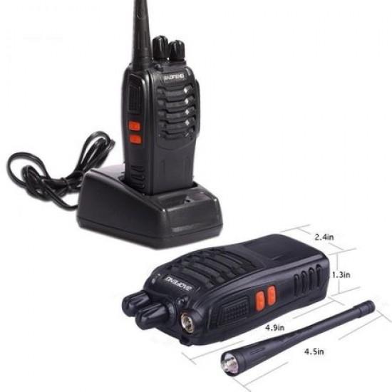 Statie radio portabila emisie receptie, Walkie Talkie, Baofeng BF-888S