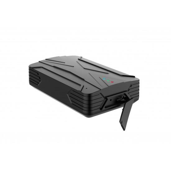 Dispozitiv localizare GPS traker, GTSTAR GT208A 4G, monitorizare flota auto in timp real, alarma miscare, perimetru, viteza, soc