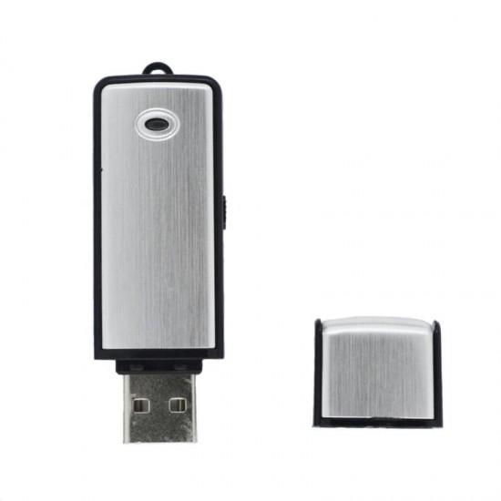 Reportofon spion cu activare vocala TarTek T8, mascat in stick USB, 8GB, 18 ore autonomie