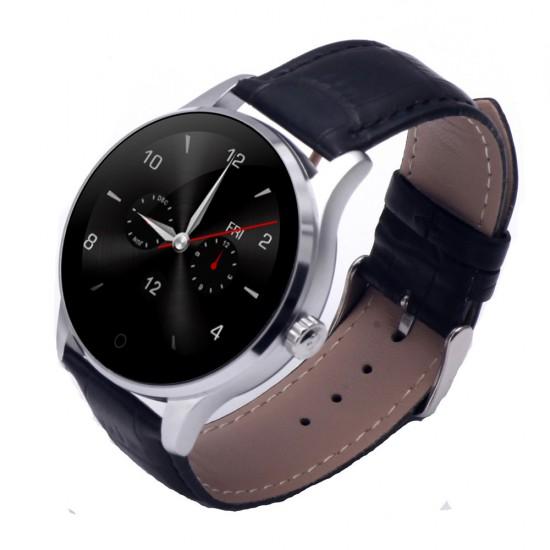 Ceas Smartwatch TarTek™ K88H Android si IOS, Metalic, Black Edition