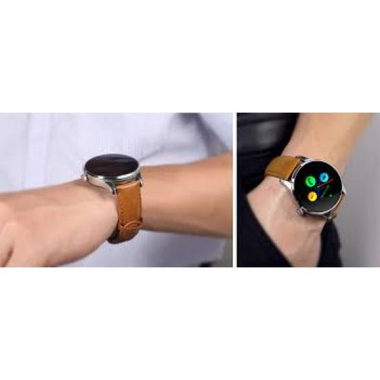 Ceas Smartwatch TarTek™ K88H Android si IOS, Metalic, Brown Edition