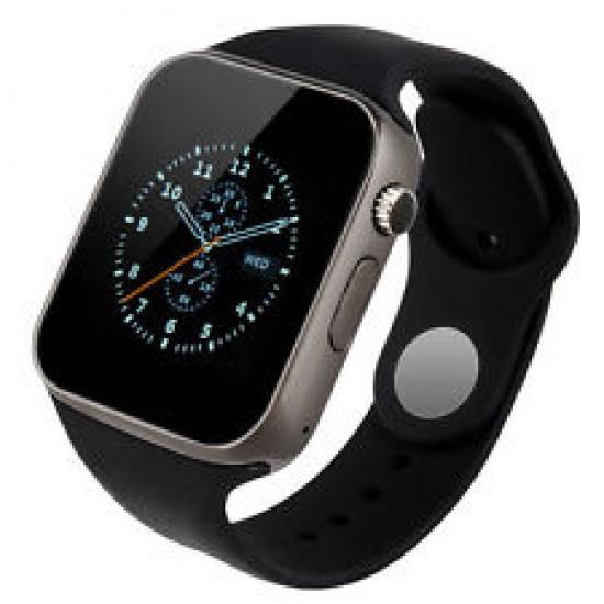Ceas SmartWatch TarTek™ A1 - Watch  Black Edition - Telefon microSIM, microSD camera