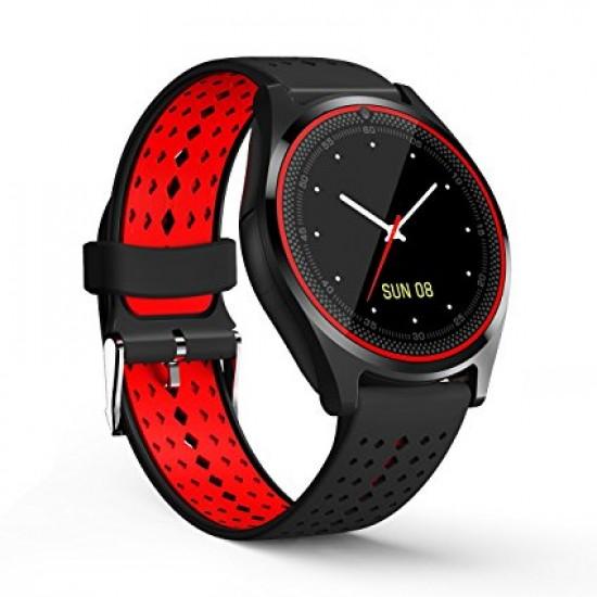 Ceas SmartWatch TarTek™ V9 - Black & Red Edition