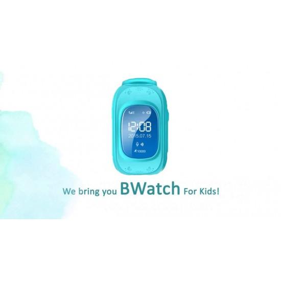 Ceas Telefon Smartwatch  monitorizare copii TarTek™ Q50, Albastru cu GPS