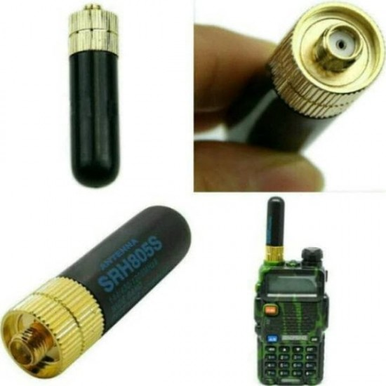 Antena BAOFENG mini pentru statia Baofeng UV-5R, UV-82, BF-888S
