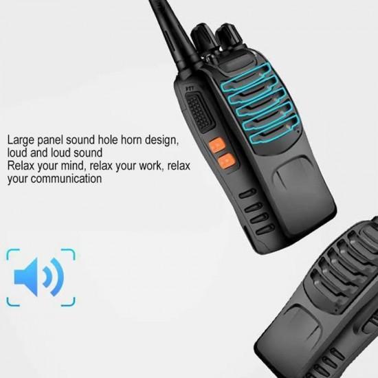 Set 4 buc Statii Radio Walkie Talkie 888S UHF 400-470MHz 16CH