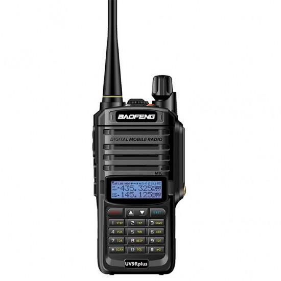 Statie radio portabila emisie receptie, Walkie Talkie Baofeng UV-9R PLUS, 18W, dual band 136 - 174 MHz / 400-520 Mhz