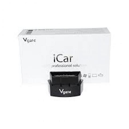Interfata Diagnoza Multimarcak ICar3 Vgate cu WiFi Black OBD2, compatibil iOS si Android