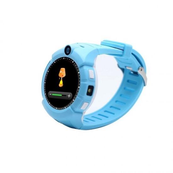 Ceas telefon TarTek™ cu GPS pentru copii Q610 ALBASTRU